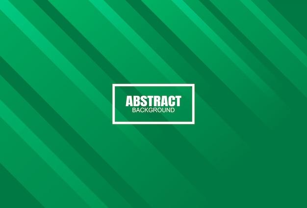 Fundo abstrato colorido moderno verde, vetor Vetor Premium