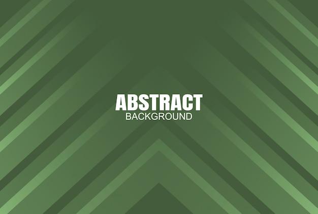 Fundo abstrato colorido moderno verde Vetor Premium