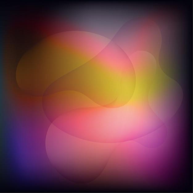 Fundo abstrato com cor fluida Vetor Premium