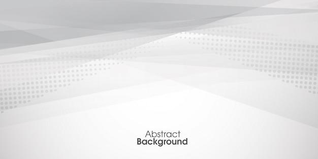 Fundo abstrato com design de meio-tom Vetor Premium