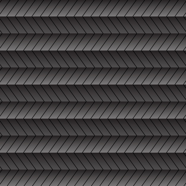 Fundo abstrato com padrão em ziguezague Vetor grátis