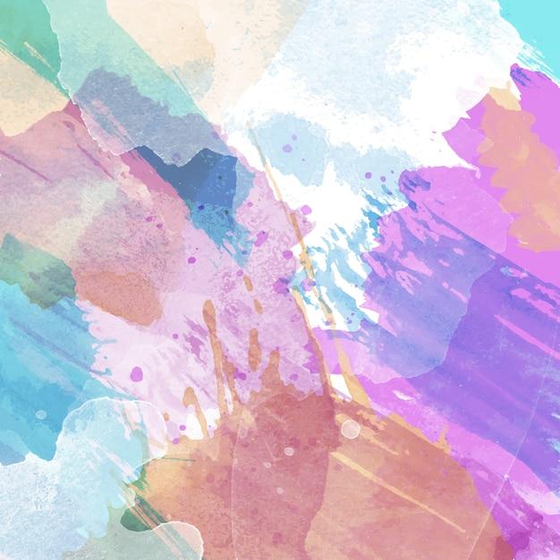 Fundo abstrato com textura aquarela Vetor grátis