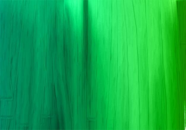 Fundo abstrato com textura de tinta verde Vetor grátis