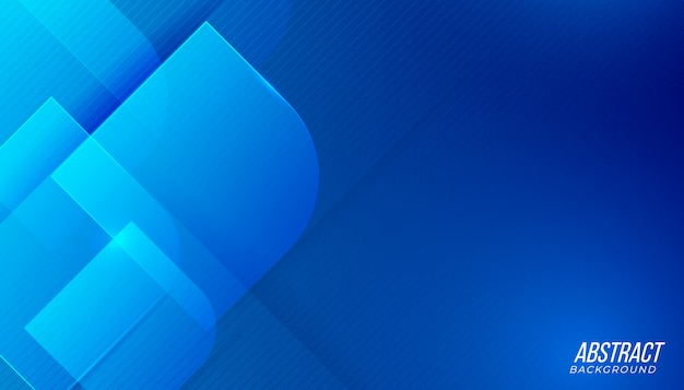 Fundo abstrato da tecnologia de luz azul futurista moderna Vetor Premium