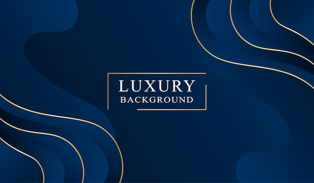 Fundo abstrato de luxo Vetor Premium