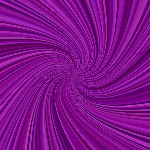 Fundo abstrato de raia espiral - design gráfico vetorial a partir de raios giratórios Vetor grátis