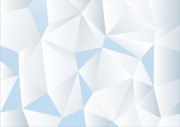 Fundo abstrato do polígono Vetor Premium