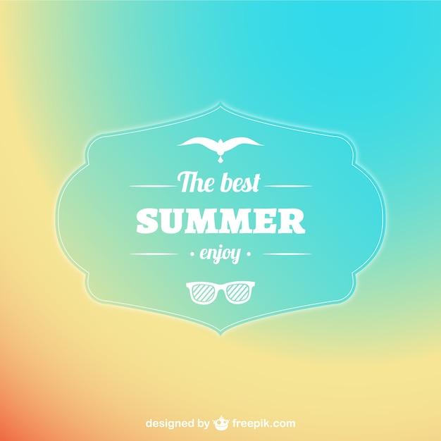Fundo abstrato do verão pastel Vetor grátis