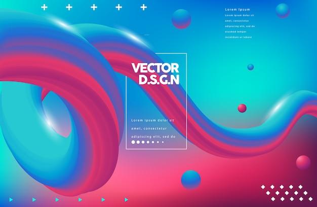 Fundo abstrato do vetor Vetor Premium