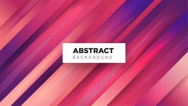 Fundo abstrato elegante com combinação de cores gradiente Vetor Premium