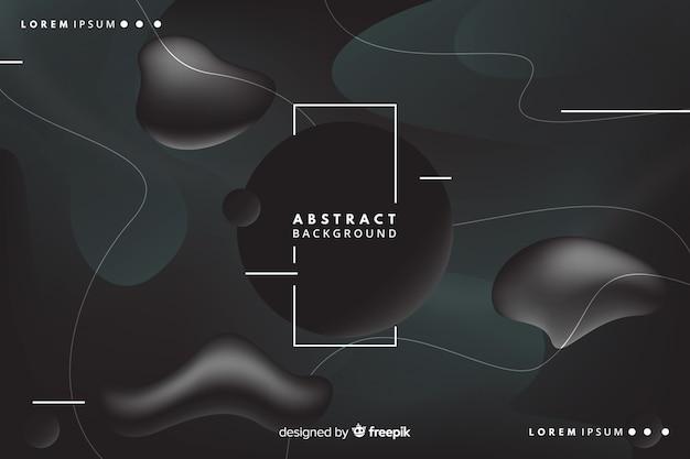 Fundo abstrato escuro Vetor grátis