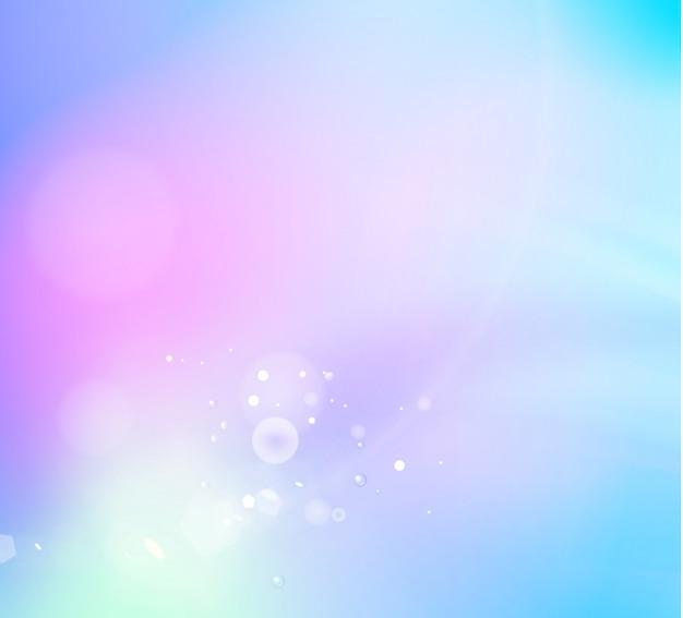 Fundo abstrato fantasia de bokeh branco sobre violeta Vetor Premium