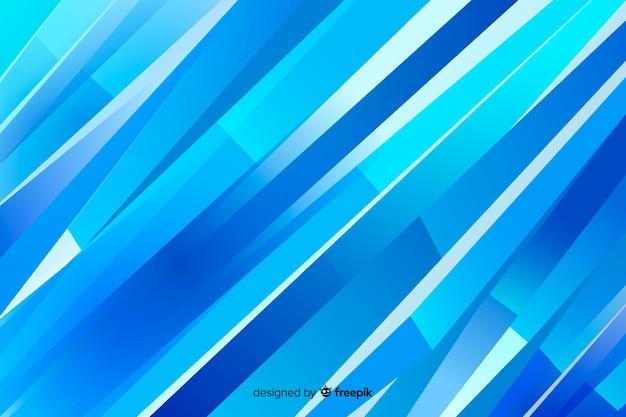 Fundo abstrato formas azuis Vetor grátis