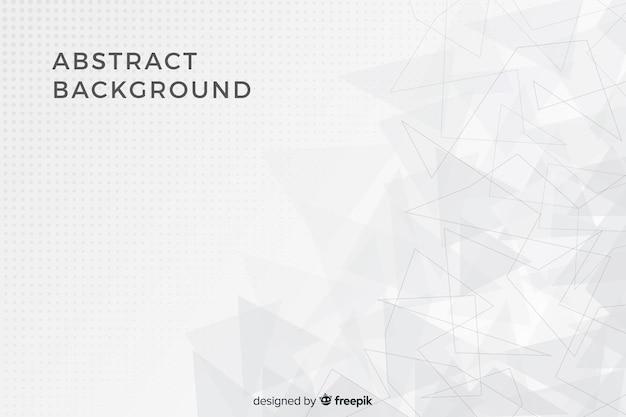 Fundo abstrato formas geométricas Vetor Premium