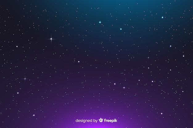 Fundo abstrato gradiente constelação Vetor grátis