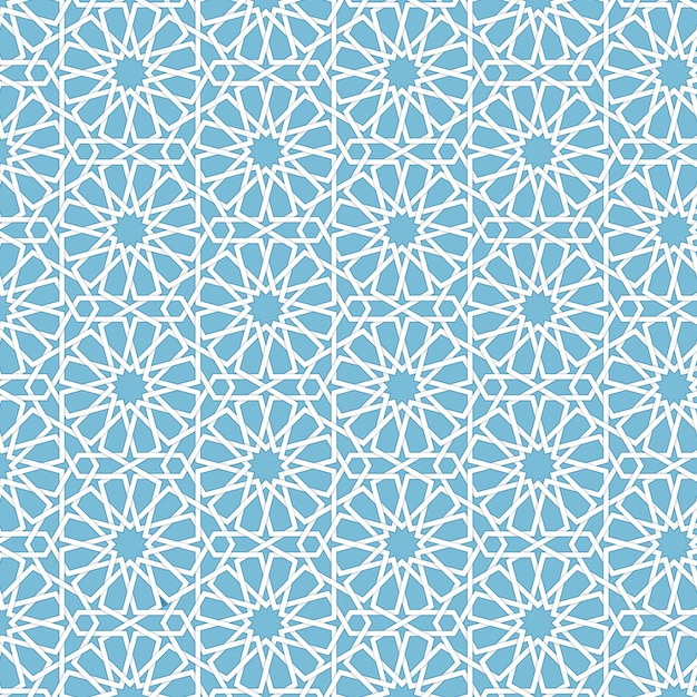 Fundo abstrato islâmico geométrico do vetor. baseado em ornamentos étnicos muçulmanos. listras de papel entrelaçadas. fundo elegante para cartões, convites etc. Vetor grátis