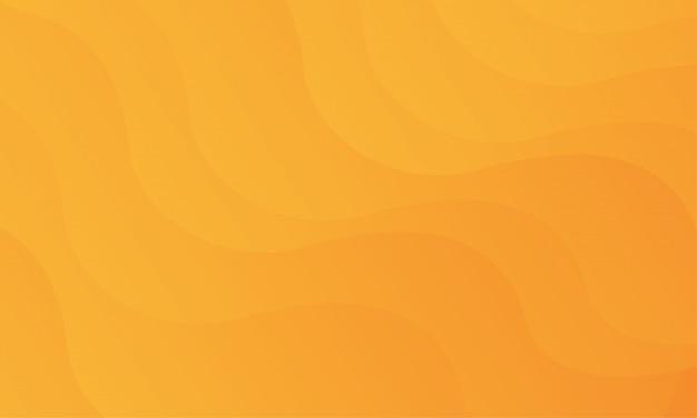Fundo abstrato laranja forma geométrica Vetor Premium