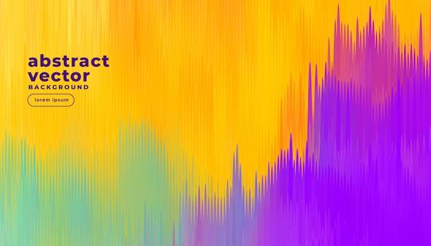 Fundo abstrato linhas coloridas Vetor grátis