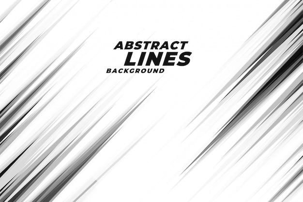 Fundo abstrato linhas diagonais Vetor grátis