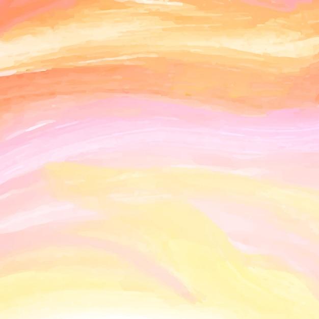 Fundo abstrato moderno vetor aquarela Vetor grátis