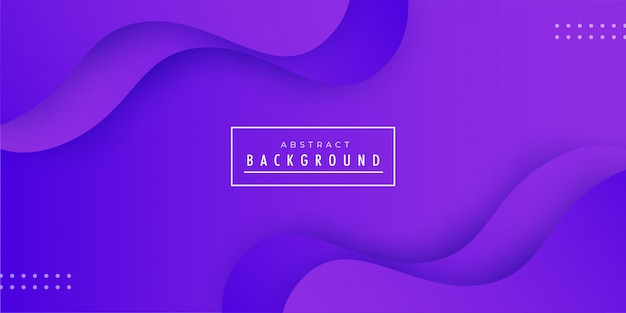 Fundo abstrato onda roxa Vetor Premium
