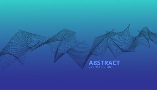 Fundo abstrato padrão geométrico Vetor Premium
