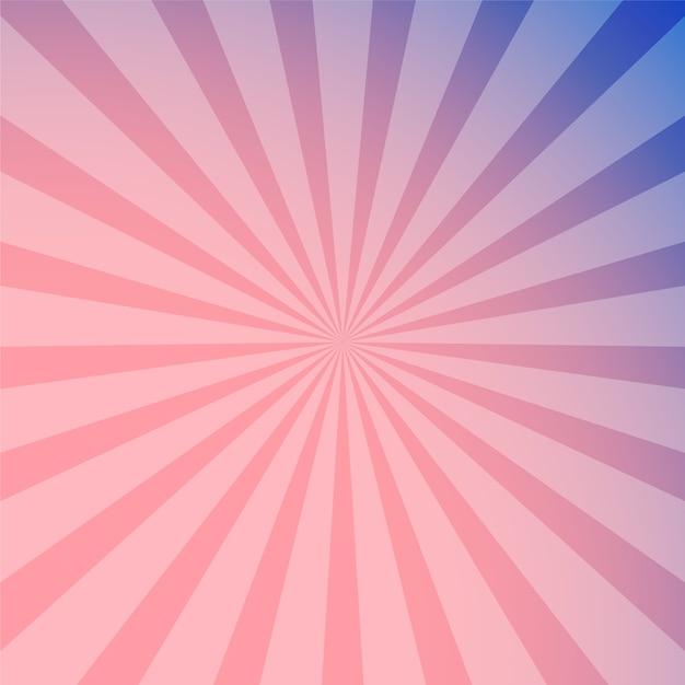 foto de Fundo abstrato rosa raios roxo Vetor Premium