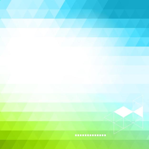 Fundo abstrato tecnologia em cores Vetor Premium