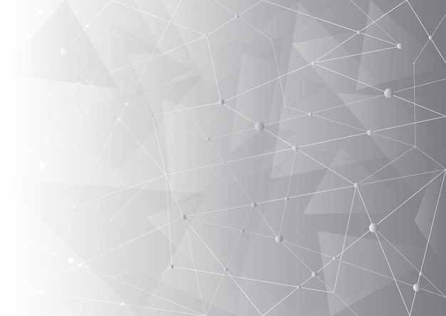 Fundo abstrato tecnologia Vetor Premium