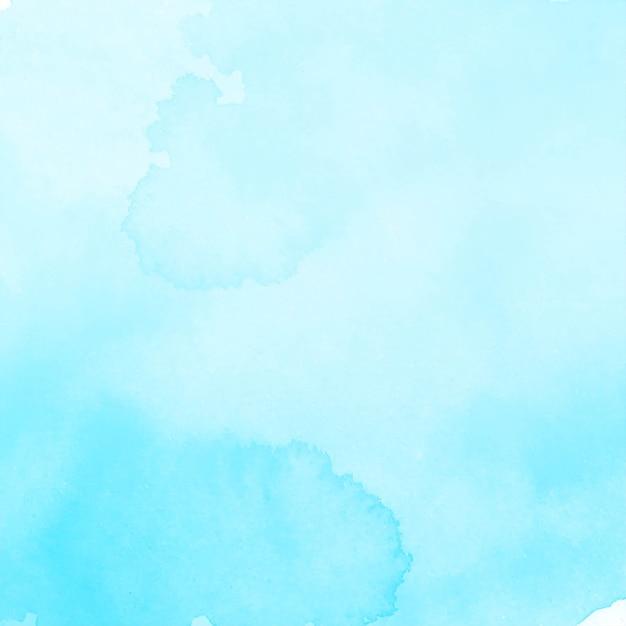 Fundo aquarela azul elegante moderno Vetor grátis