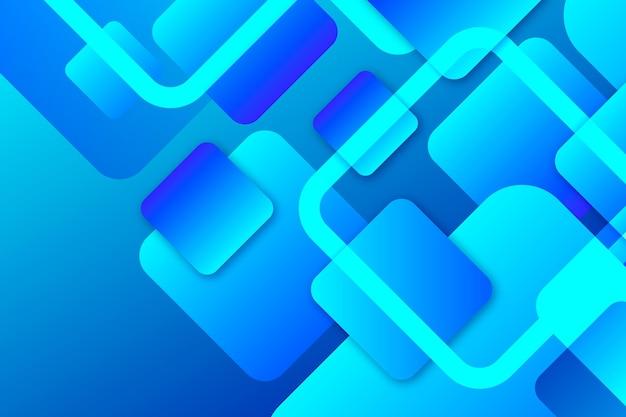 Fundo azul de formulários sobrepostos Vetor Premium