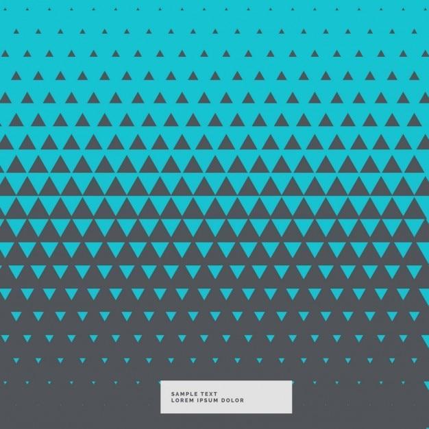 Fundo azul e cinza triângulo abstrato Vetor grátis
