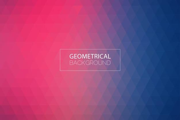 Fundo azul roxo geométrico moderno Vetor Premium