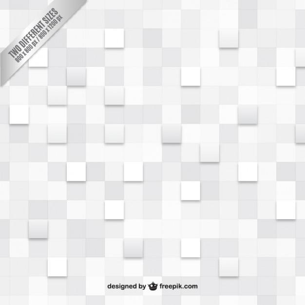 Fundo branco checkered Vetor grátis