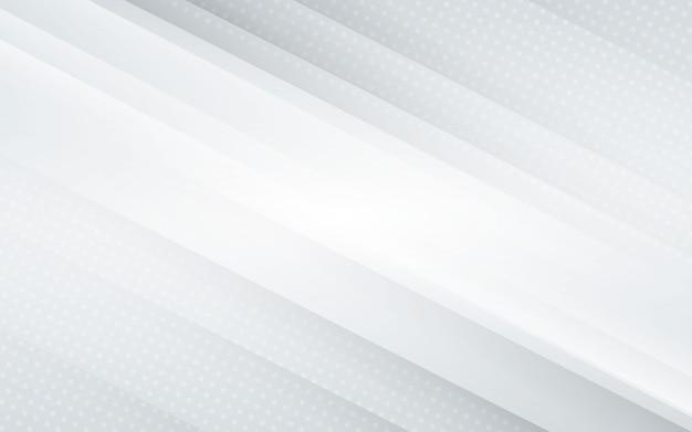 Fundo branco com meio-tom Vetor Premium