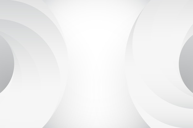 Fundo branco mínimo abstrato Vetor Premium