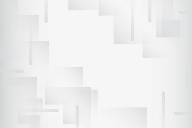 Fundo branco mínimo abstrato Vetor grátis