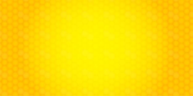 Fundo brilhante e elegante do favo de mel. Vetor Premium
