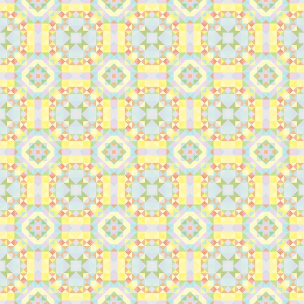 Fundo caleidoscópio. abstrato geométrico padrão low poly. fundo claro do triângulo. elementos geométricos do triângulo. fundo triangular abstrato. caleidoscópio geométrico sem emenda. Vetor Premium