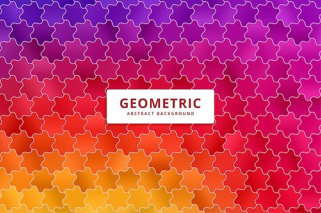 Fundo colorido abstrato. padrão de formas gradientes. Vetor Premium