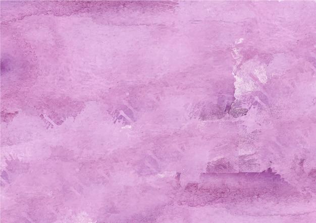 Fundo colorido abstrato roxo aquarela Vetor Premium