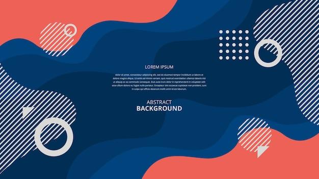 Fundo colorido abstrato Vetor Premium