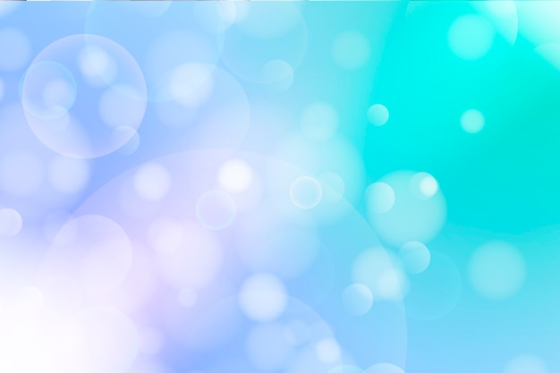 Fundo colorido bokeh com luz Vetor grátis