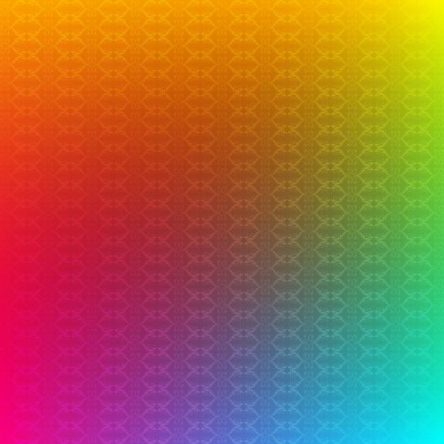 Fundo colorido do teste padrão Vetor grátis