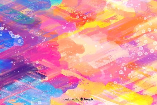 Fundo colorido em aquarela Vetor grátis
