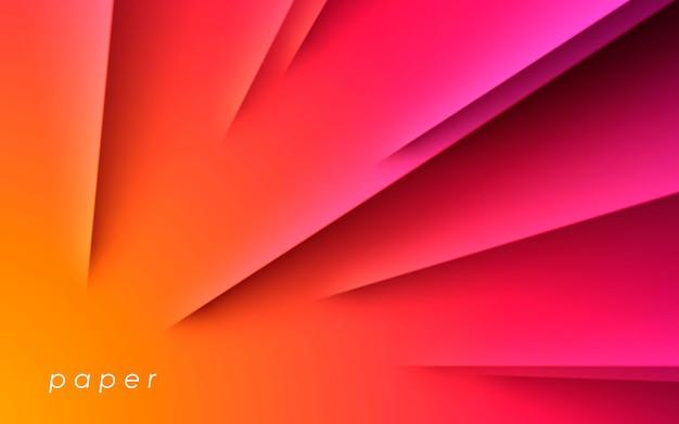 Fundo com faixa diagonal moderna gradiente Vetor Premium