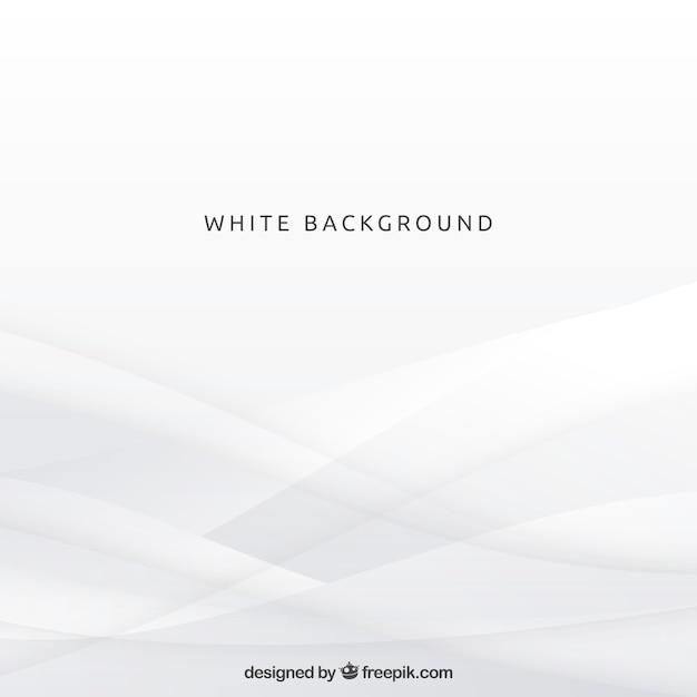 Fundo com formas brancas Vetor grátis