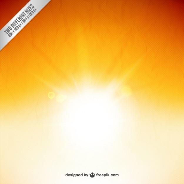 Fundo da luz do sol Vetor grátis
