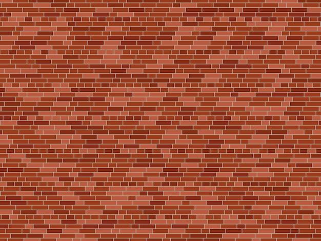 Fundo da parede de tijolo velho. textura de parede de tijolo de vetor Vetor Premium