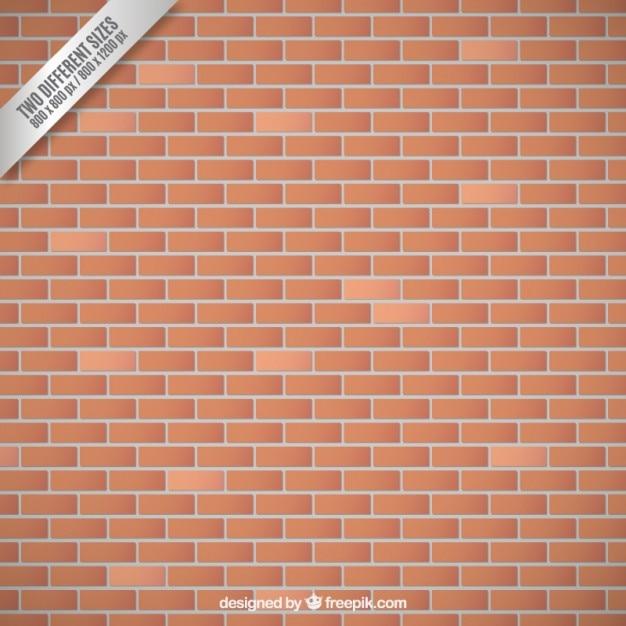 Fundo da parede de tijolo Vetor grátis